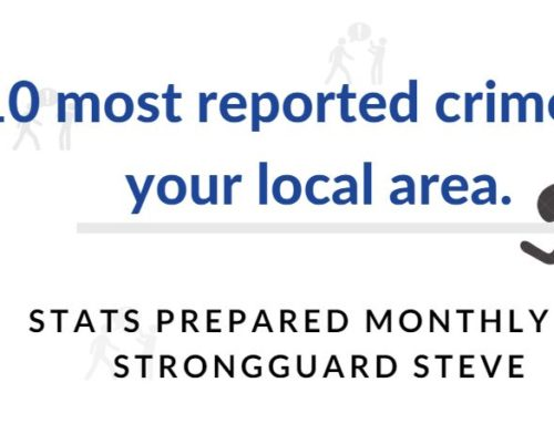 10 MOST REPORTED CRIMES IN WARRINGTON – AUGUST 2019