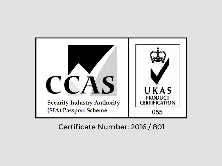 Security Industry Authority Passport Scheme