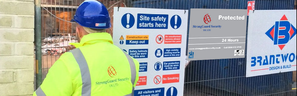 Construction Security Ripon | Strongguard Security UK Ltd