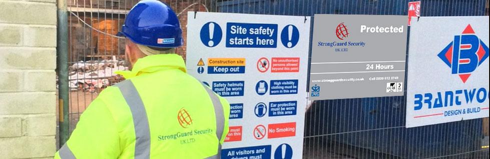 Construction Security Derby | Strongguard Security UK Ltd