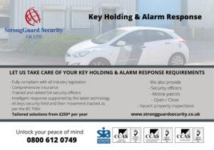 Key Holding Preston - Alarm Response Preston - Flyer