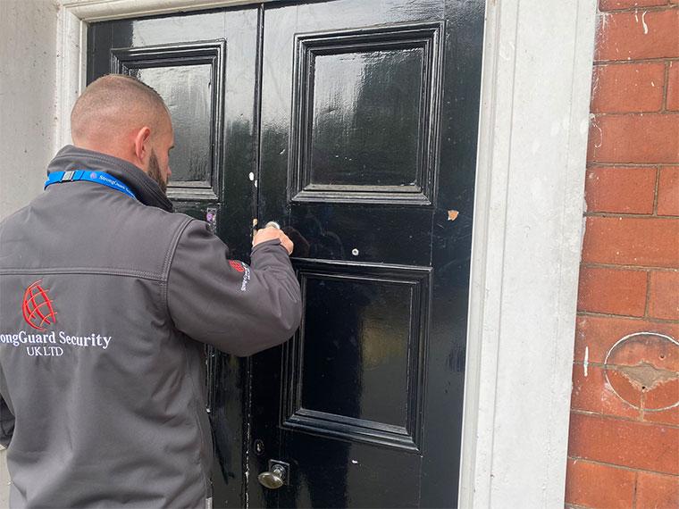 Key Holding Hull - Alarm Response Hull