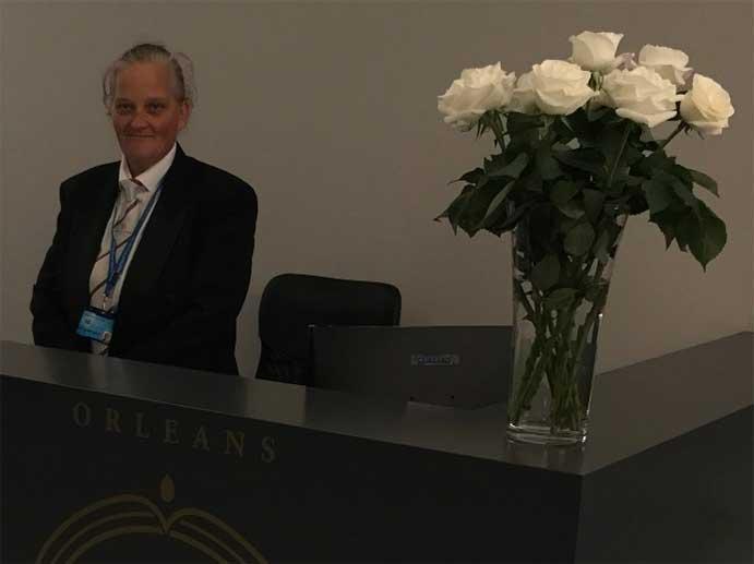 concierge   reception security - Leeds