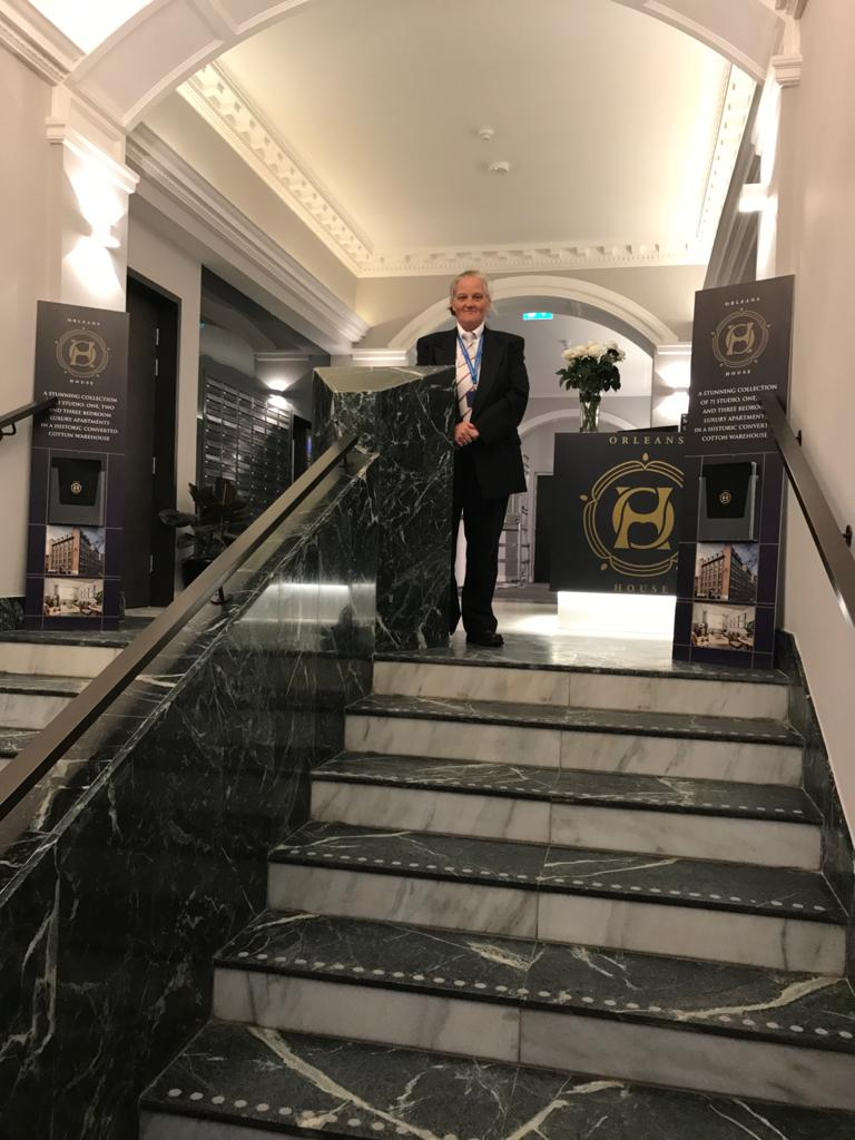 Concierge   reception security front of house-Leeds