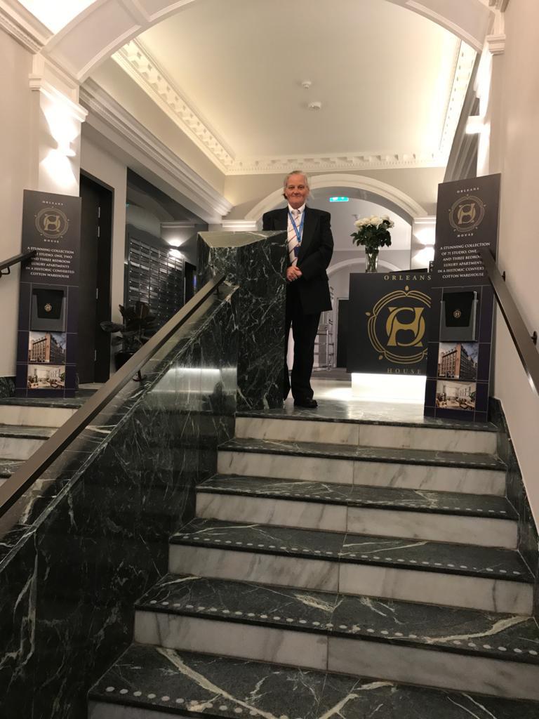 Concierge Glasgow | reception security front of house-Glasgow